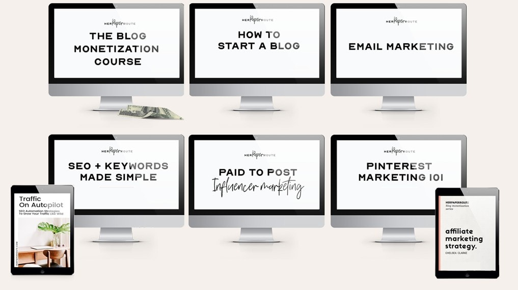 BE YOUR OWN BLOG BOSS BUNDLE OF RESOURCES FOR BLOGGERS